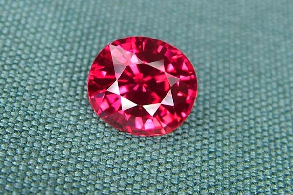 IF-VVS AAAA+ Firey Red Ruby Gemstone D1890