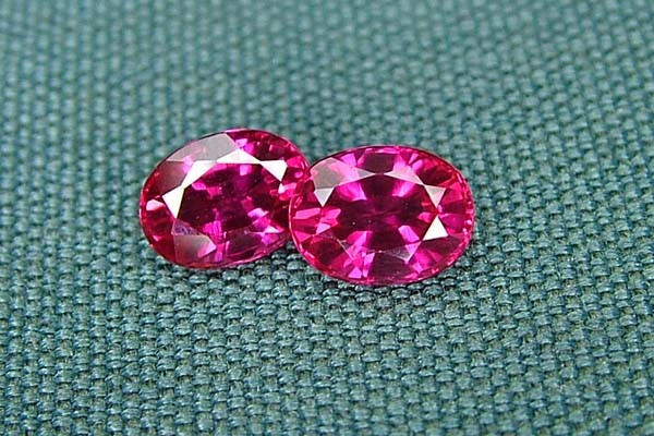 IF-VVS AAAA+ Firey Red Ruby Gemstone D1901