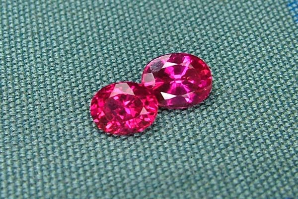 IF-VVS AAAA+ Firey Red Ruby Gemstone D1907
