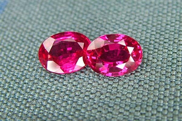 IF-VVS AAAA+ Firey Red Ruby Gemstone D1914
