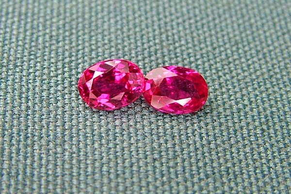 IF-VVS AAAA+ Firey Red Ruby Gemstone D1916