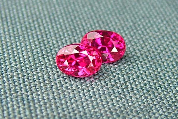 IF-VVS AAAA+ Firey Red Ruby Gemstone D1922