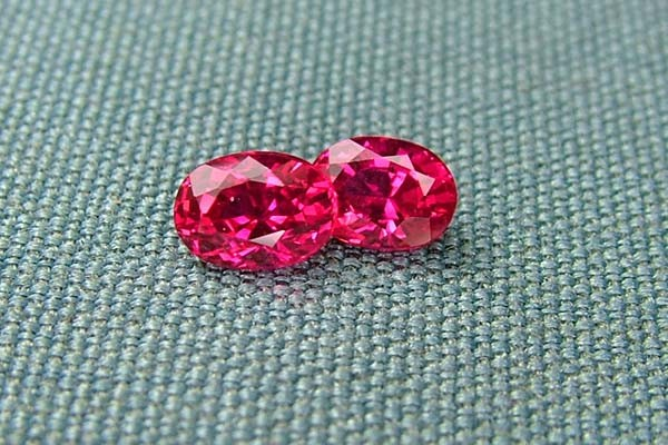 IF-VVS AAAA+ Firey Red Ruby Gemstone D1923