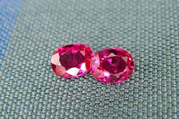 IF-VVS AAAA+ Firey Red Ruby Gemstone D1934