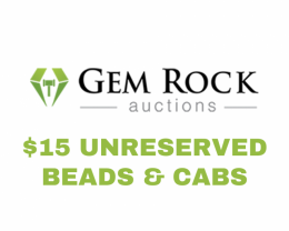 Beads & Cabochon - $15 Unreserved