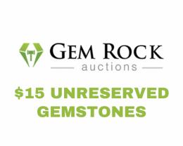 Gemstones - $15 Unreserved