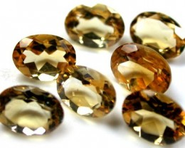 NATURAL CITRINE OVAL SHAPE 7pcs 4.20 CARATS ROI 1363