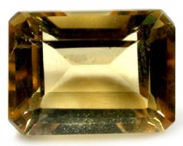 CITRINE OCTAGON SHAPE  ROI 1446