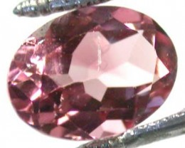 NATURAL CLEAR TOURMALINE OVAL CUT  0.8 CARATS RO 1597