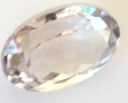 NATURAL CLEAR TOURMALINE OVAL CUT  0.9CARATS RO 1608