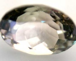 NATURAL CLEAR TOURMALINE OVAL CUT  0.9 CARATS RO 1613