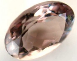 NATURAL CLEAR TOURMALINE OVAL CUT  0.75CARATS RO 1644