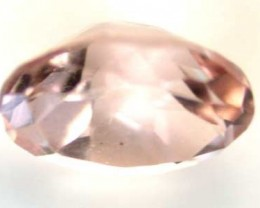 NATURAL CLEAR TOURMALINE OVAL CUT  0.6CARATS RO 1647