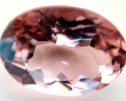 NATURAL CLEAR TOURMALINE OVAL CUT  0.75 CARATS RO 1656