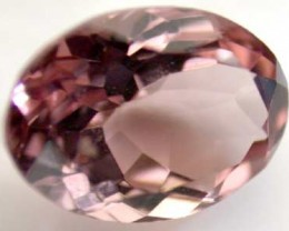 NATURAL CLEAR TOURMALINE OVAL CUT  0.8 CARATS RO 1661
