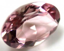 NATURAL CLEAR TOURMALINE OVAL CUT  0.7 CARATS RO 1678