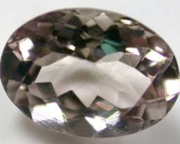 NATURAL CLEAR TOURMALINE OVAL CUT  0.65 CARATS RO 1685