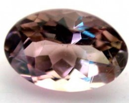 NATURAL CLEAR TOURMALINE OVAL CUT  0.5 CARATS RO 1687