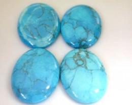 PARCEL TURQUOISE COLOR HOWLITE  117.5 CARATS RO 1701