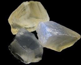 Parcel Selenite  3 pieces  RO36