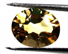 NATURAL CITRINE STONE  OVAL SHAPE  3.1CARATS  RA187