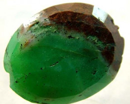 CHRYSOPRASE DRILLED  BI - COLOUR 13.25 CTS LG-902