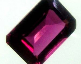 GARNET NATURAL FACETED 1.65 CTS TBG-1959