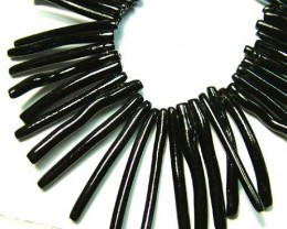 BLACK CORAL NECKLACE 35 GMS/ 175 CTS LG-933