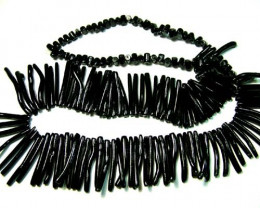 BLACK CORAL NECKLACE 40 GMS/ 200 CTS LG-911