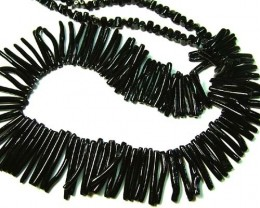 BLACK CORAL NECKLACE 37 GMS/ 185 CTS LG-914
