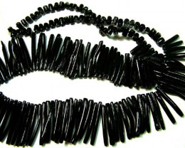 BLACK CORAL NECKLACE 37 GMS/ 185 CTS LG-918