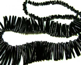 BLACK CORAL NECKLACE 39 GMS/ 195 CTS LG-916