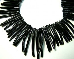 BLACK CORAL NECKLACE 42 GMS/ 210 CTS LG-931