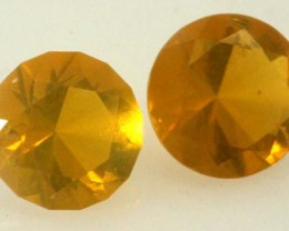 CITRINE FACETED STONE 1.10 CTS  TBG-1801