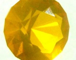 CITRINE FACETED STONE 0.50 CTS  FS 2490  (TBO-GR)