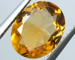 VVS CITRINE FACETED STONE 1.95 CTS  TBG-1575