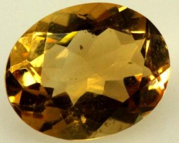2.15 CTS  VVS CITRINE FACETED STONE  TBG-1772