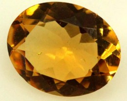 CITRINE FACETED NATURAL STONE 1.85 CTS  TBG-1778