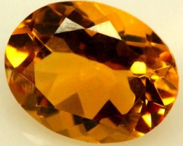 CITRINE FACETED NATURAL STONE 2.15 CTS TBG-1777