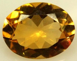 CITRINE FACETED NATURAL STONE 1.90 CTS  TBG-1775