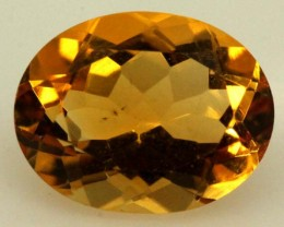 CITRINE FACETED NATURAL STONE 2.35 CTS  TBG-1774
