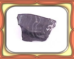 18.5ct Top Silver Crown Mine Psilomelane Cab/Carve Rough