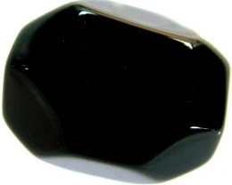 BLACK ONYX FACETED BEAD  41.90 CTS FNP 1507 (NP-GR)