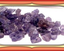 ROUGH 44 - 500 ct Facet QualityTanzanian Iolite