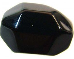 BLACK ONYX FACETED BEAD 38.90  CTS FNP 1545 (NP-GR)
