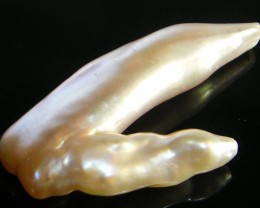 LARGE HIGH LUSTRE QUALITY  KEISHI PEARL  24CTS SG1379