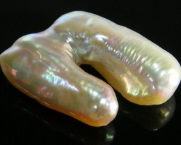 LARGE HIGH LUSTRE QUALITY  KEISHI PEARL 33 CTS SG1385