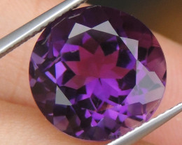 9.00cts, Amethyst,  Top Cut, Clean, Untreated,