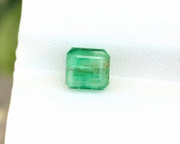1.65 Ct Natural Greenish Transparent Emerald Gemstone