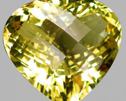 44.00 ct. 100% Natural Top Yellow Lemon Quartz Brazil Unheated